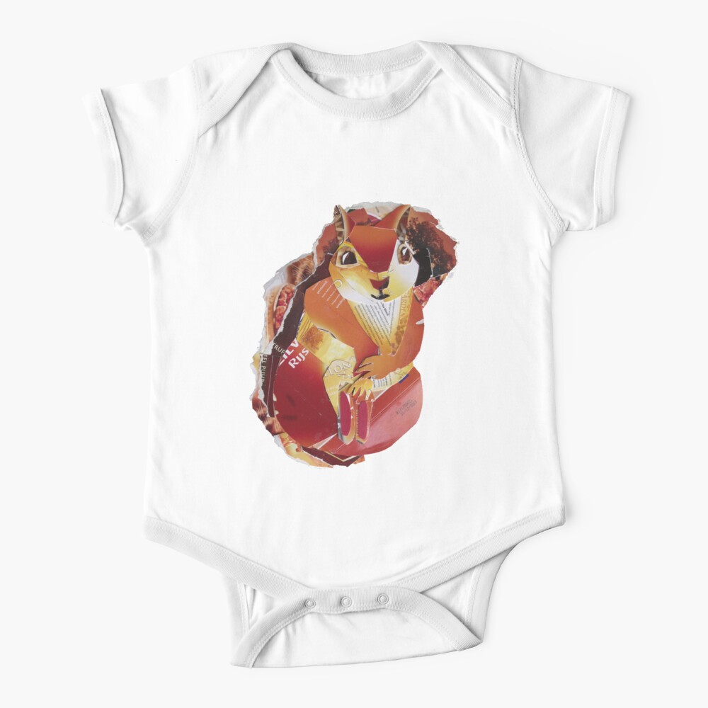 Red Squirrel Baby One-Piece