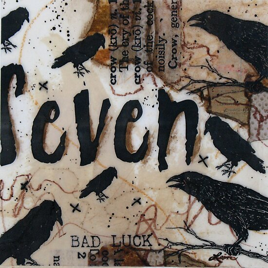 Crow Count Seven by ladycrow4