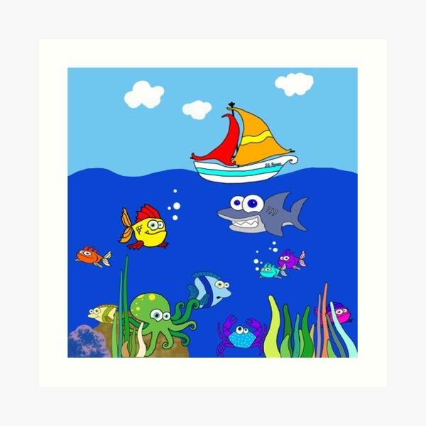 Ryan's Sea Art Print