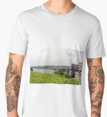 A Rooftop View of Washington Men's Premium T-Shirt