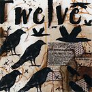 Crow Count Twelve by ladycrow4