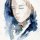 dreaming woman by AtelierLinty
