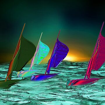 Running With the Wind - A Yacht Race On Planet Aparious by ZipaC