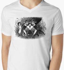 Tweedledum and eedeldeewT Mens V-Neck T-Shirt