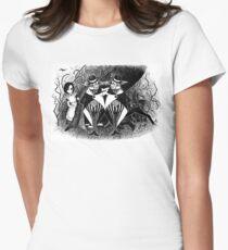 Tweedledum and eedeldeewT Women's Fitted T-Shirt