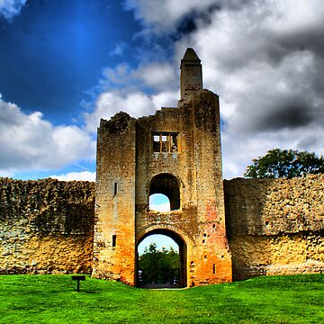 Sherborne Castle  HDR 1 by davesphotographics