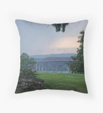 Newburgh-Beacon Bridge Throw Pillow