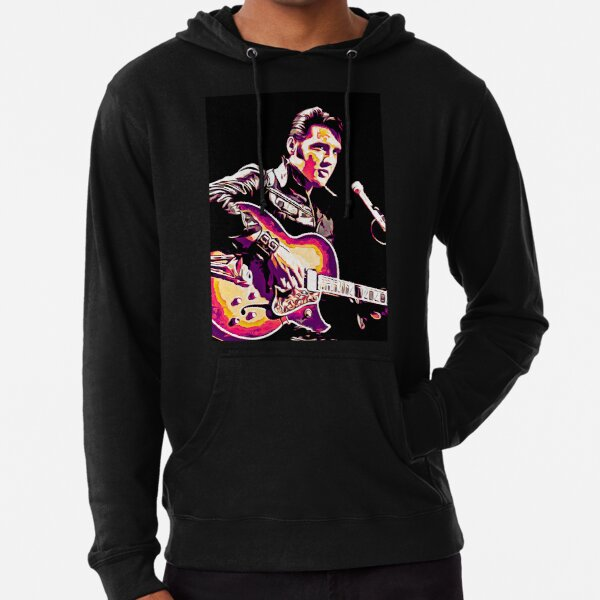 The King of Rock and Roll  Lightweight Hoodie