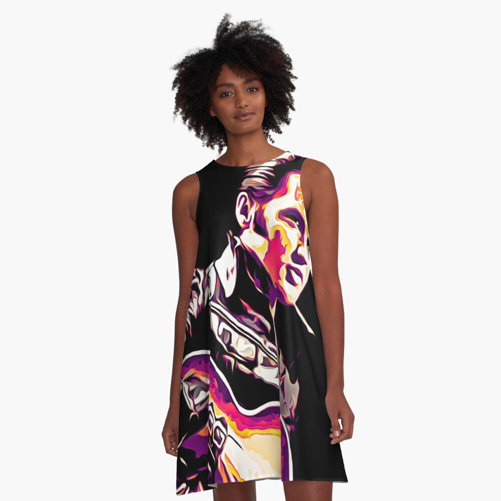 The King of Rock and Roll  A-Line Dress