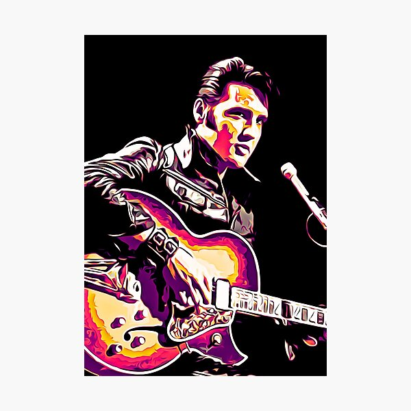 The King of Rock and Roll  Photographic Print