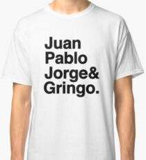 El Fab Cuatro Classic T-Shirt