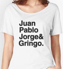 El Fab Cuatro Women's Relaxed Fit T-Shirt