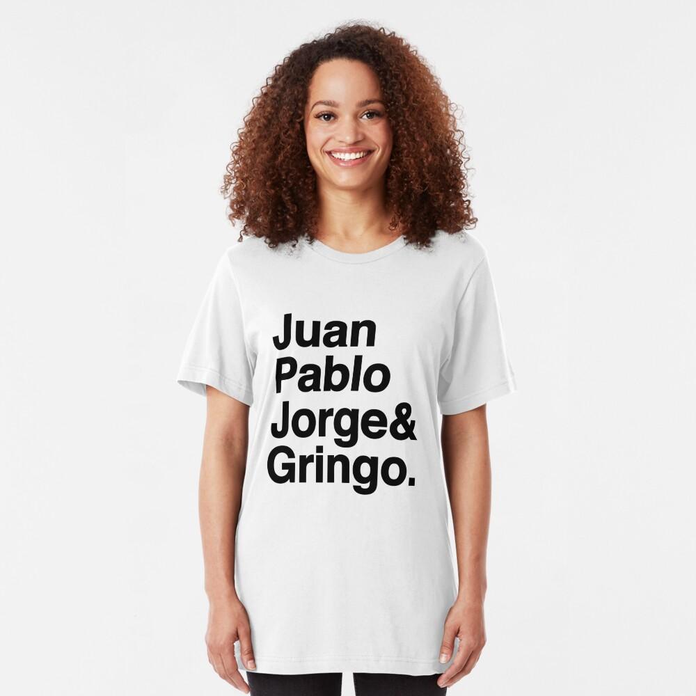 El Fab Cuatro Slim Fit T-Shirt