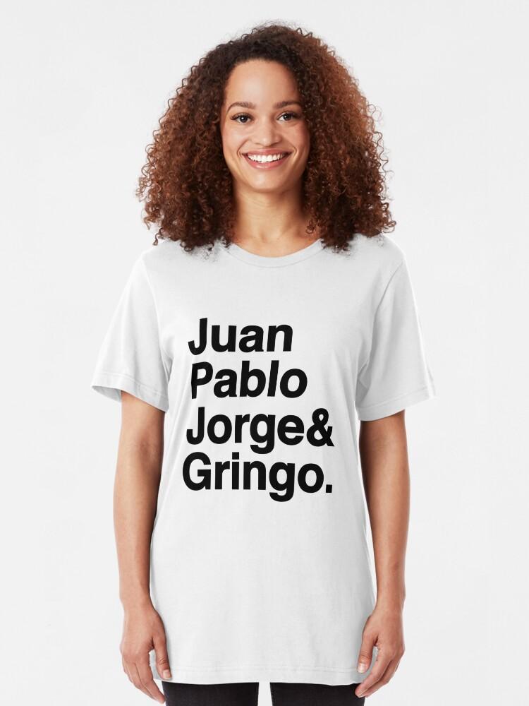 Alternate view of El Fab Cuatro Slim Fit T-Shirt