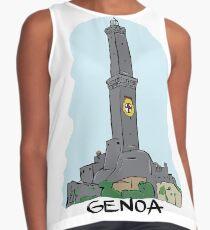 Genoa city in Italy Contrast Tank