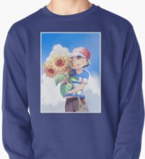 Pokémon Ash and Sunflowers Pullover