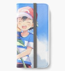Pokémon Ash and Sunflowers iPhone Wallet/Case/Skin