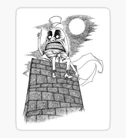 The Wrath of Humpty Dumpty Sticker