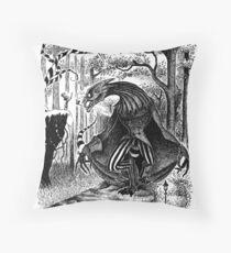 The Jabberwocky Throw Pillow