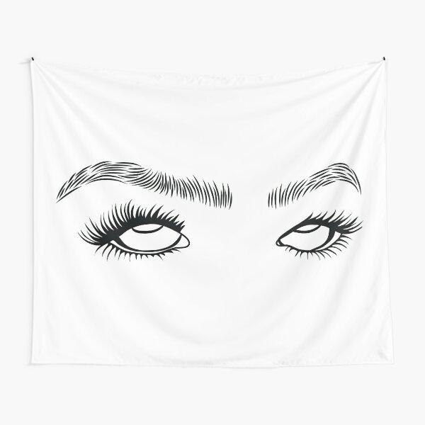 Eye Roll Tapestry