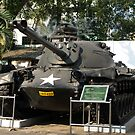 M.48 A3 Tank (US) in Military Museum, Saigon  by Bev Pascoe