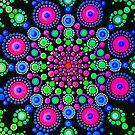 Little Dot Mandala - Art&Deco By Natasha by ArtDecoNatasha