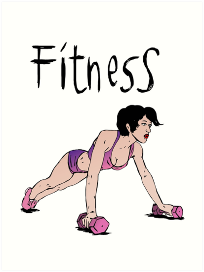 Fitness girl by Logan81