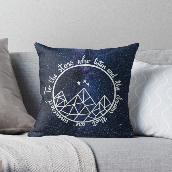 ACOTAR - to the stars who listen  Throw Pillow