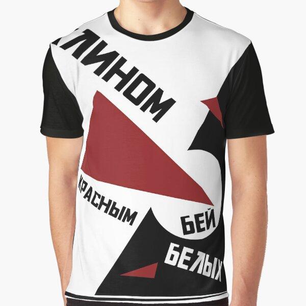 Russian Avant Garde Soviet Graphic T-Shirt