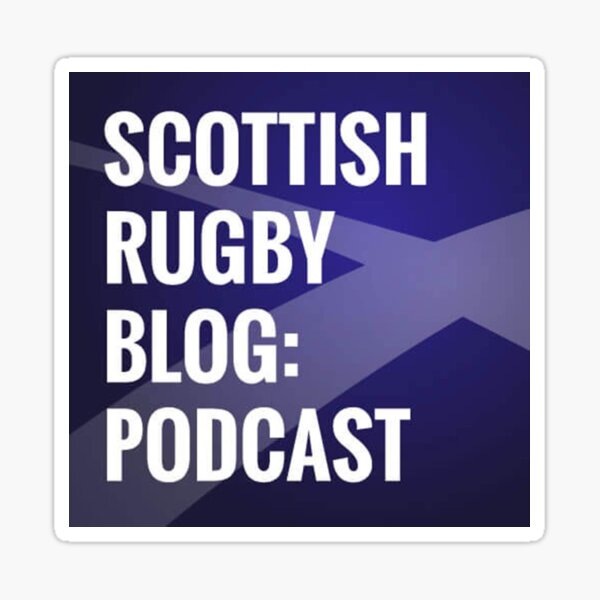 Scottish Rugby Blog Podcast Sticker