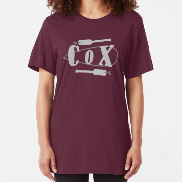 Cox Board Oars Slim Fit T-Shirt