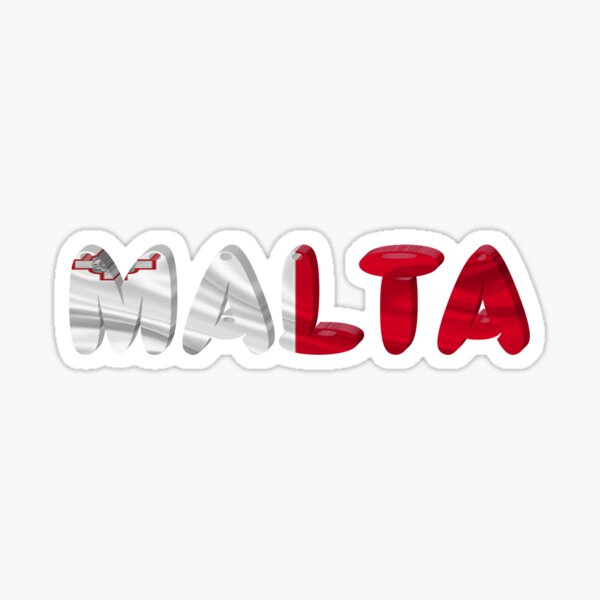 Malta! Sticker