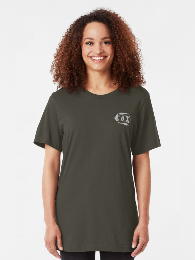 Alternate view of Cox Oar Pocket size Slim Fit T-Shirt