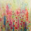 Summer Meadow watercolour painting by Penny Bonser