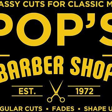 Pop's Barber Shop by LightningDes
