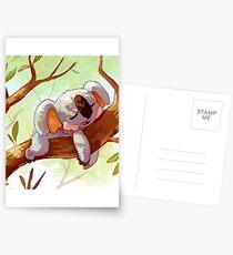Pokémon Komala Postcards