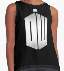Doctor Who Logo 11TH Contrast Tank