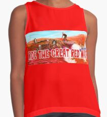 Ride The Great Red Wave Contrast Tank