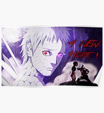 obito poster a new hope  Poster