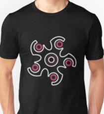 Glowing Hibana Logo Slim Fit T-Shirt