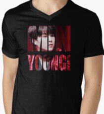 MIN YOONGI BTS (Bangtan Boys) SUGA Agust D Men's V-Neck T-Shirt