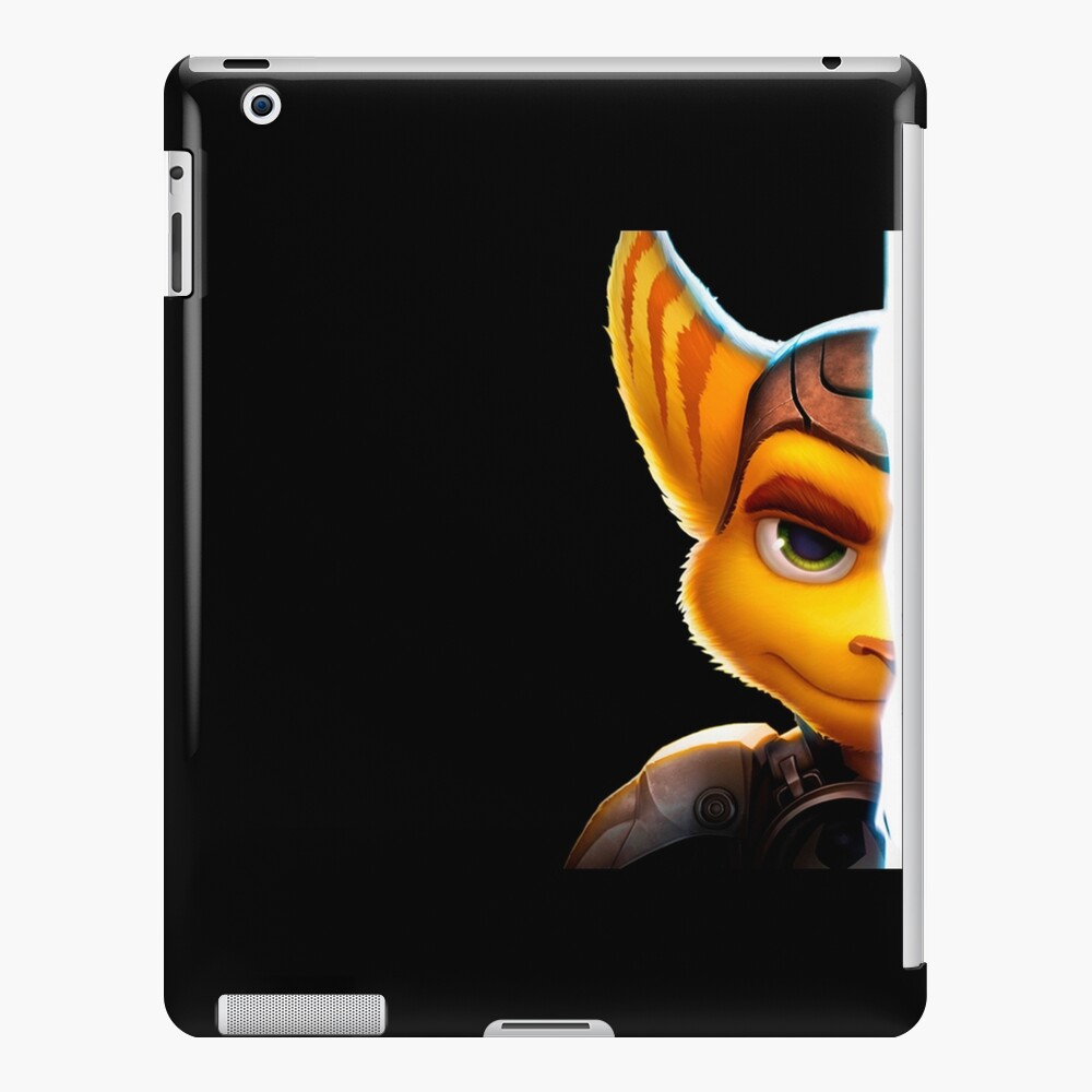 Ratchet & Clank Black Background Funda y vinilo para iPad