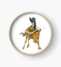GNU Linux vector graphic art Clock