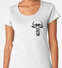 GNU linux logo head Women's Premium T-Shirt
