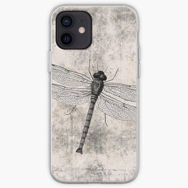 Vintage  Dragonfly  iPhone Soft Case
