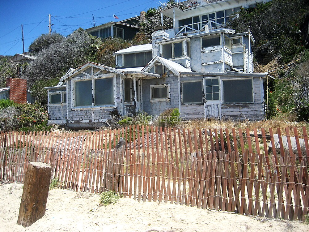 Old beach house crystal cove by bellavista2 redbubble for The cove house