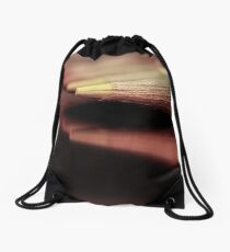 Waiting for a nice and warm sunset... Drawstring Bag