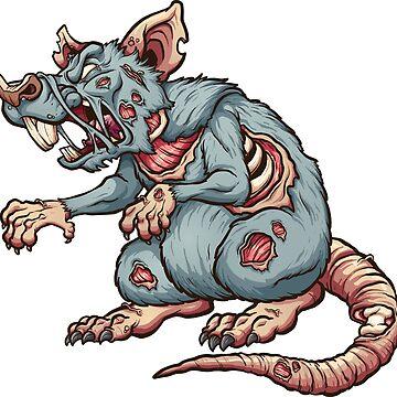 Zombie rat by memoangeles