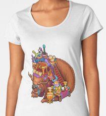 Shopkeeper Pixel Art - League of Legends Women's Premium T-Shirt