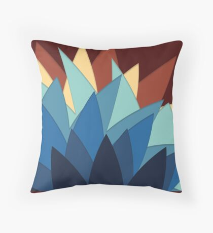 Colours of Stars Throw Pillow